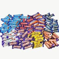 CADBURY EXPORT 100 CHOCOLATE BARS SELECTION